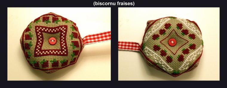 des biscornus pour Christou !!!!!!