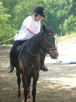 """"""" Ce n'est pas un cheval et vous n'êtes pas dans un manège, c'est un partenaire de danse """""""