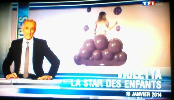 Violetta sur TF1!!