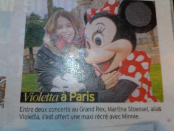 Martina Stoessel Tele 7 jour  1 au 7 février