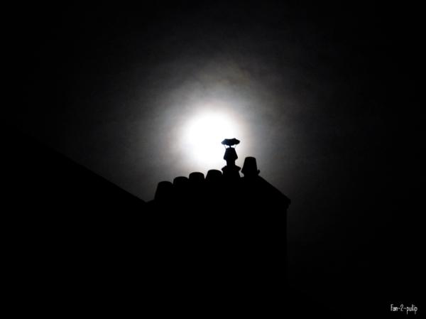 Viser la lune et les étoiles