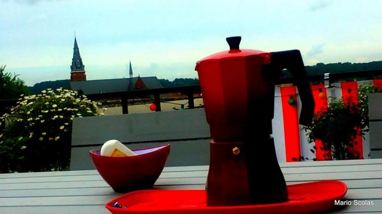 Coffee time in Ronse