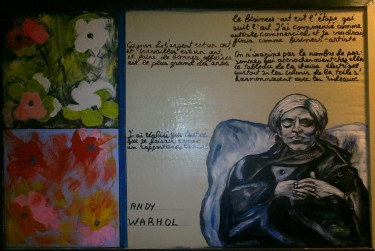 Vera Diakova : some words about Andy Warhol