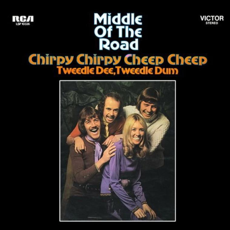 "Middle of the Road - ""Chirpy Chirpy Cheep Cheep"" - 1971"