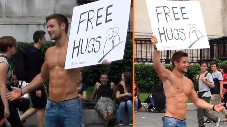 Free Hugs, love is natural