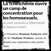 Des camps de la mort anti-homos en Tchétchénie? Didier Reynders s'inquiète