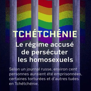 La Tchétchénie, Etat fédéré de la Russie, ouvre des camps afin d'exterminer les homosexuels ; la Communauté internationale doit agir vite !