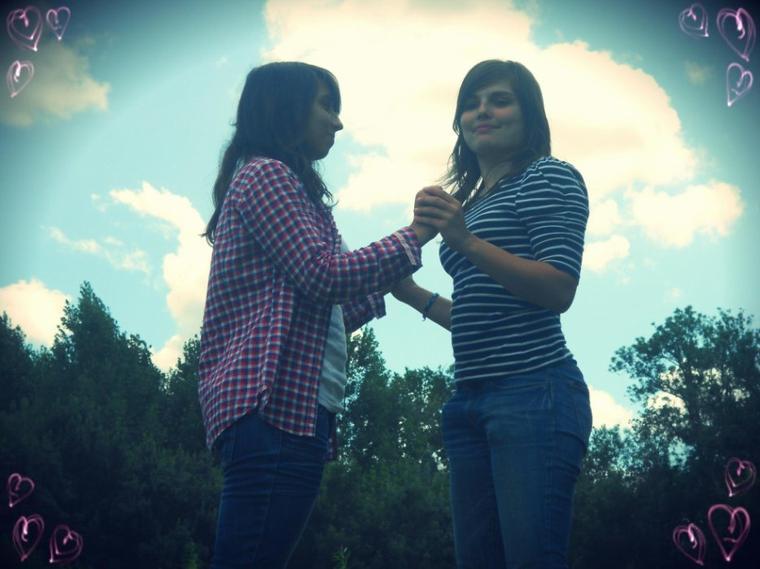 Ma meilleure amie , ma soeur <3