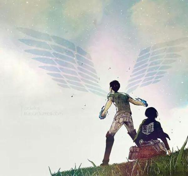 《Si je mourais... je ne pourrais plus... penser à toi.》 -Mikasa [Shingeki no Kyojin]