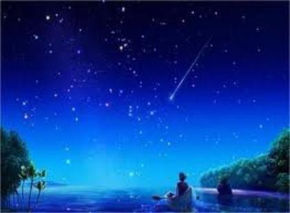 Les étoiles sont nos yeux.