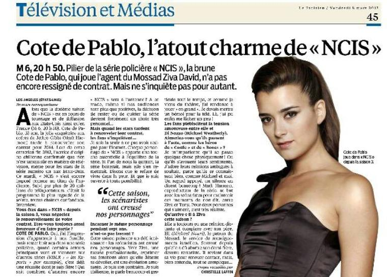 Cote interview Le Parisien