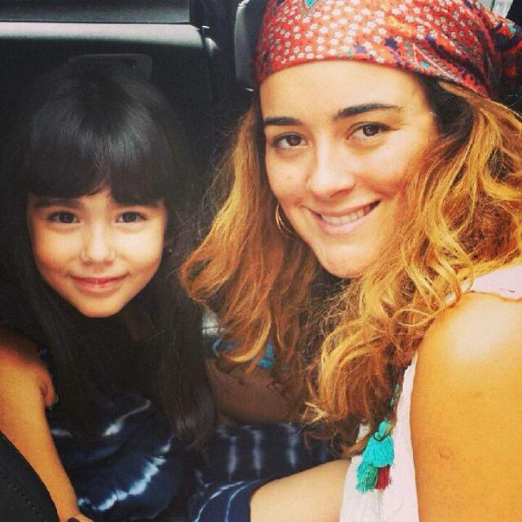 Cote et une petite fille