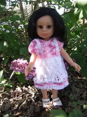 Une nouvelle robe pour ma petite Paola Reina!