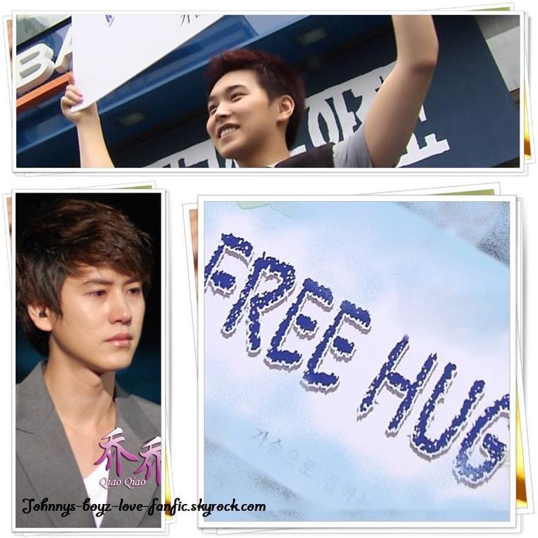 KyuMin - Free Hug.