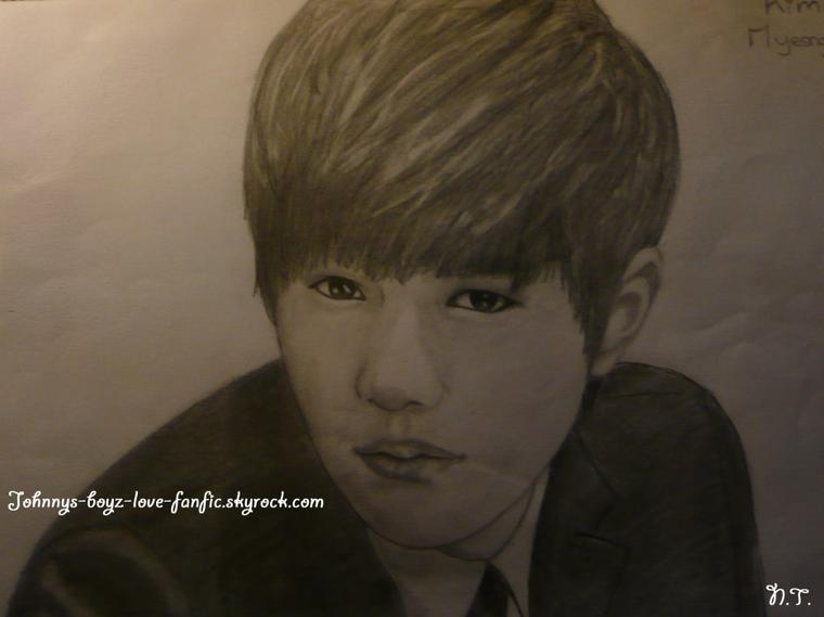 Portrait de Kim MyeongSoo alias  L ! by Moi~