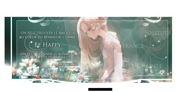 Le bonheur est un ange au visage grave