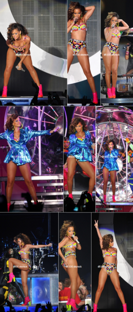 30/09/11  Rihanna en concert à Belfast, Irlande
