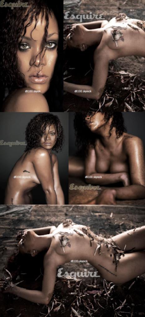"""Le 11/10/11  """"Rihanna pose pour la magazine Esquire"""""""