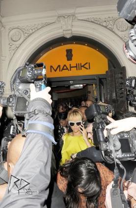 """Rihanna au club """"Mahiki"""""""