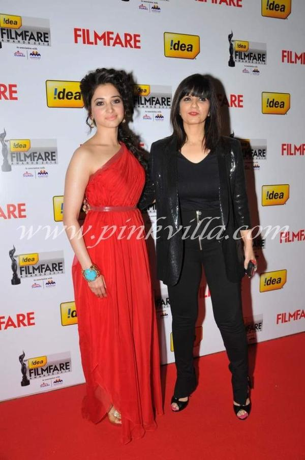 2013 EVENTS : Tamanna @ the Filmfare Awards South