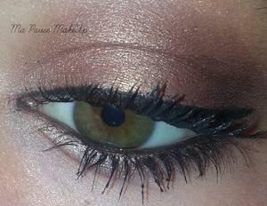 # Maquillage cuivré discret