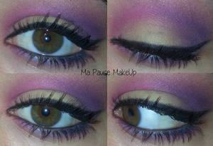 # Maquillage pastel coloré