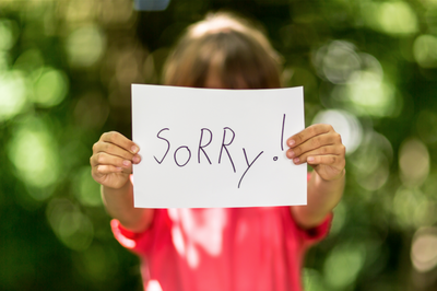 Is it not too late to say sorry ?