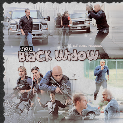 "Ncis Los Angeles  -  2x01  ""Human Traffic""   & 2x02 ""Black Widow"""
