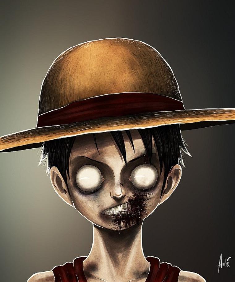Luffy zombie