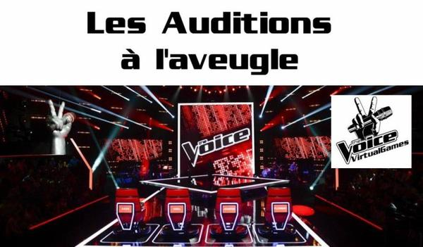 Auditions à l'aveugle : Partie 1