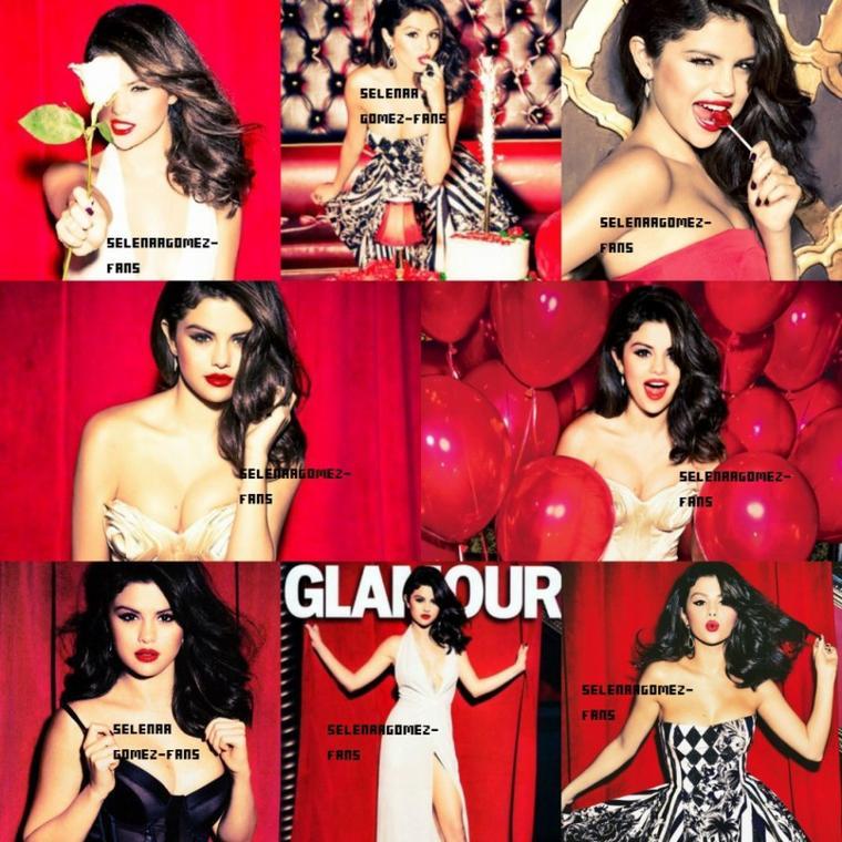 Selena pour le magazine glamour! ✿✿