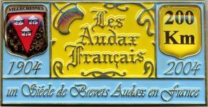 Brevet Audax de Villecresnes (avril 2004)