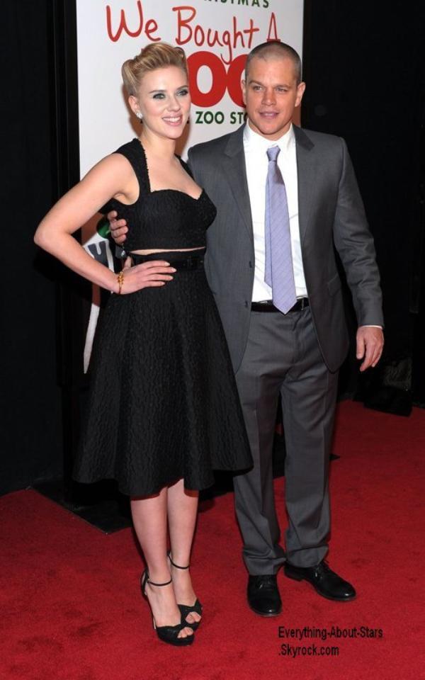 Scarlett Johansson et Matt Damon: