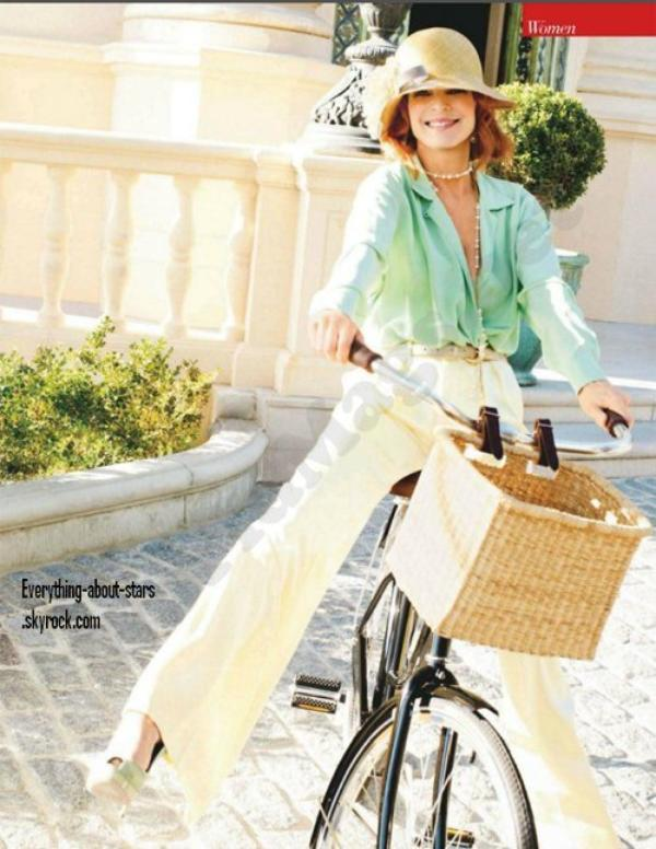 Magazine: Marcia Cross en couverture de EASY LIVING