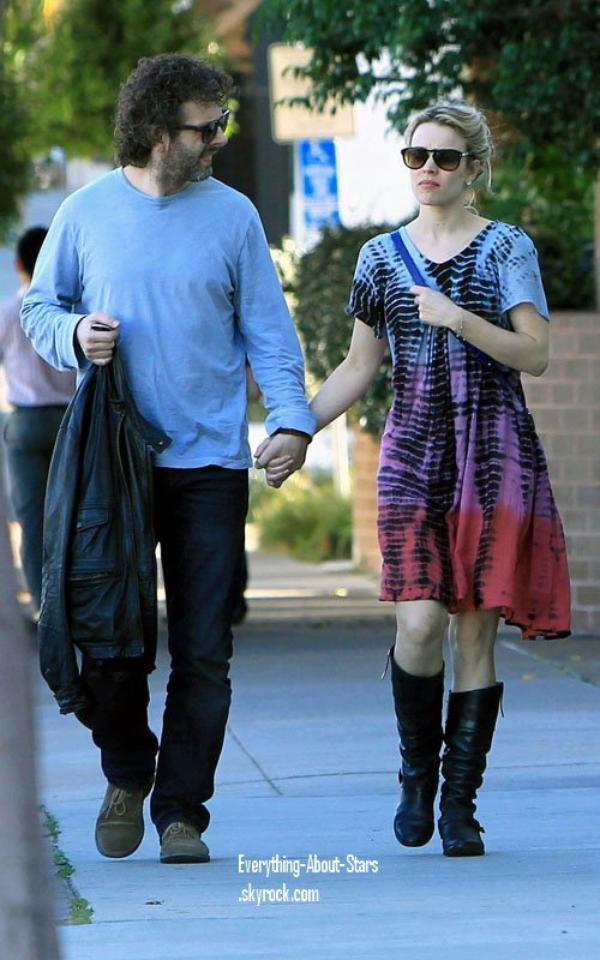 Candid: Rachel et Michael ont été repérés allé déjeuner à Los Angeles   le 9 Février 2012
