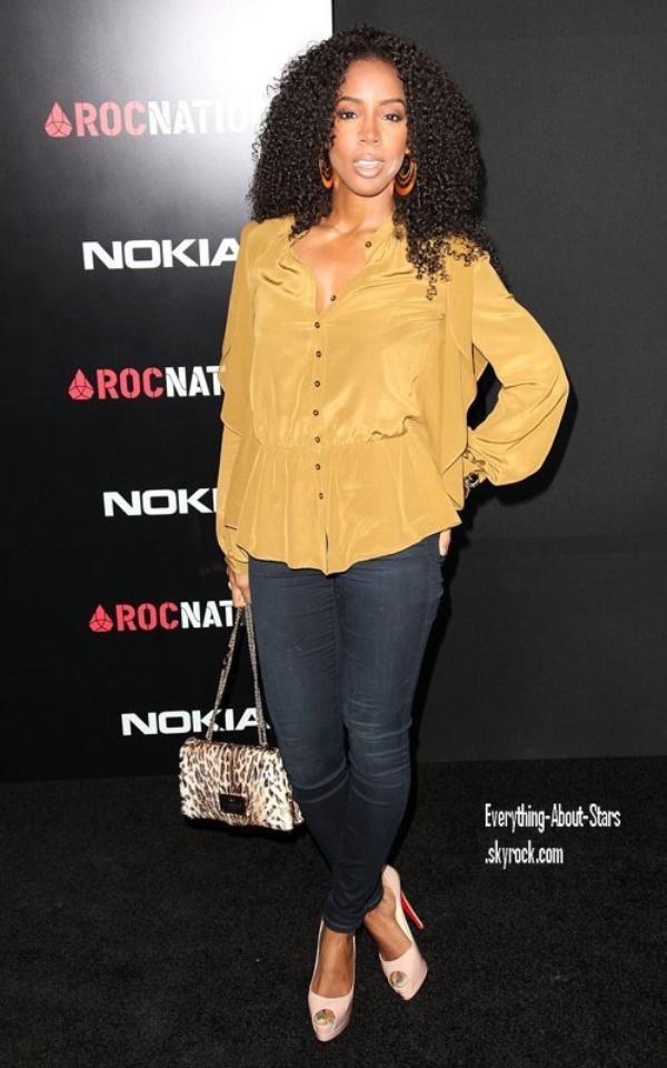 """Evénement: Soirée des PRE-GRAMMY brunch organisé par """"Roc Nation"""" à Los angeles  le 11 Février 2012"""