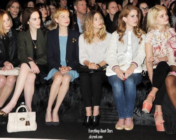 Evénement: Les peoples été présents à la Fashion Week de London   le 18 Février 2012
