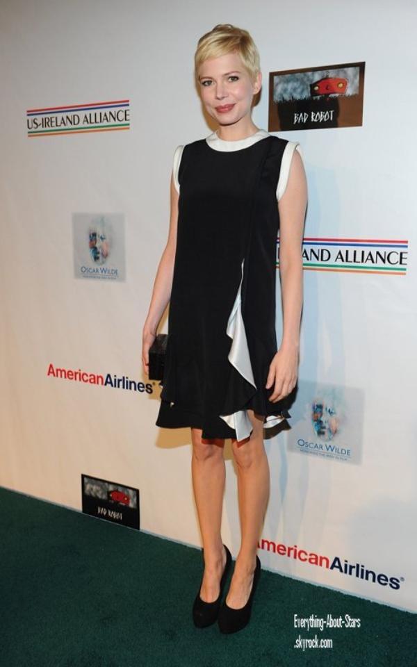 """Evénement: Michelle et Colin été présents au """" 7th Annual Oscar Wilde: Honoring the Irish in Film pre-Oscars"""" à Santa Monica   le 23 Février 2012"""