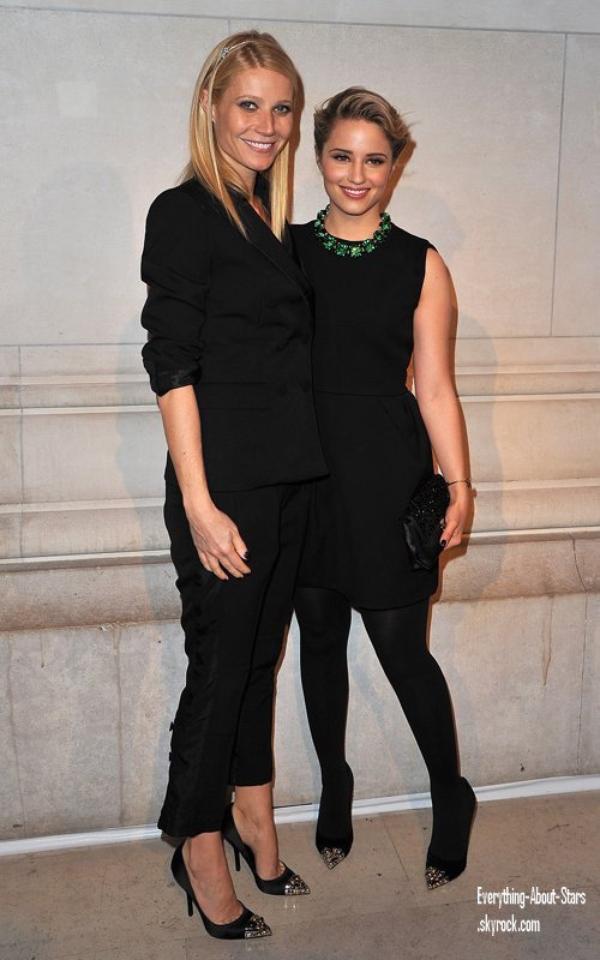 Evénement: Gwyneth et Dianna ont été repérée ensemble à la Fashion Week de Paris lors du défilé Louis Vuitton   le 07 Mars 2012