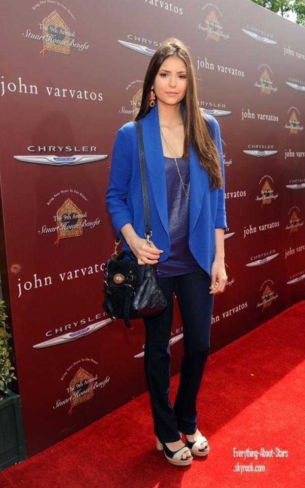 Evénement: Nina, Ian, Zoé, Cindy et Tom ont assisté à l'évènement John Varvatos 9th Annual Stuart House Benefit.   le 11 Mars 2012