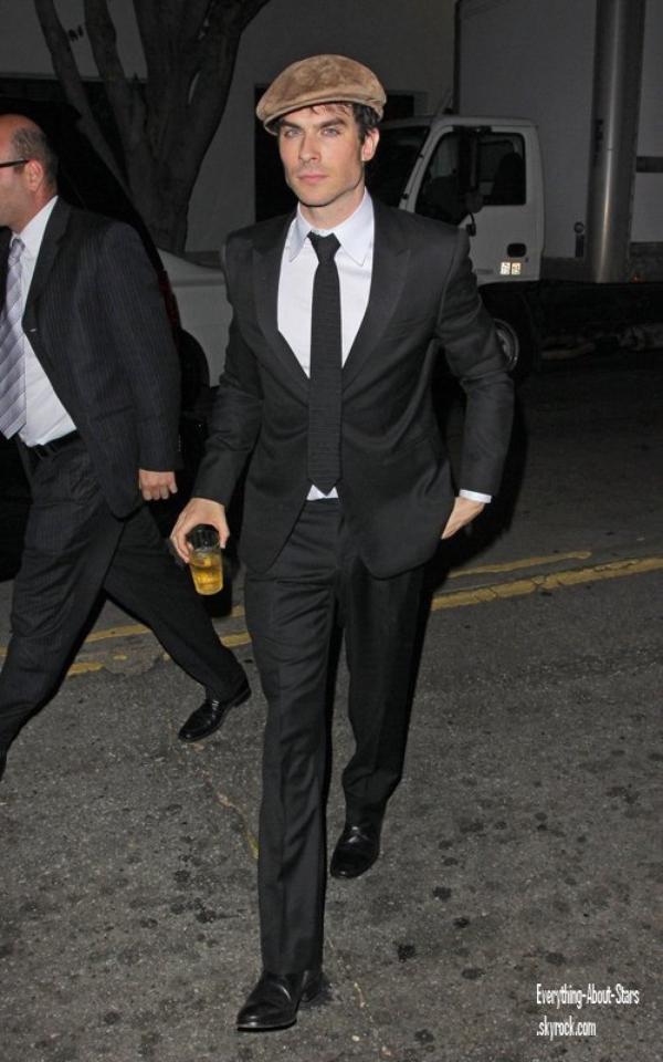 Evénement: Ian était présent aux 26th Annual Genesis Awards, il a reçu un prix pour sa fondation  le 24 Mars 2012