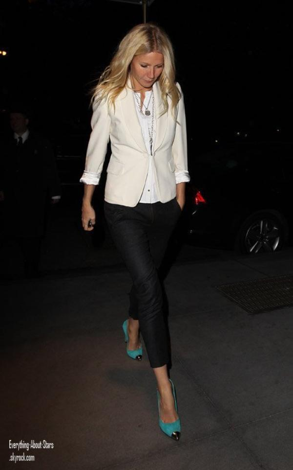 Zoom sur le look de Gwyneth Paltrow :
