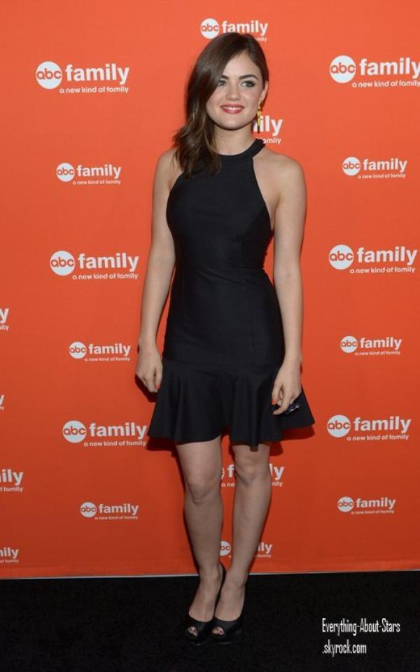 Shailene Woodley , Lucy Hale et Shay Mitchell ont été repérés à l'ABC Family West Coast Upfronts Party à Hollywood    le 1 Mai 2012