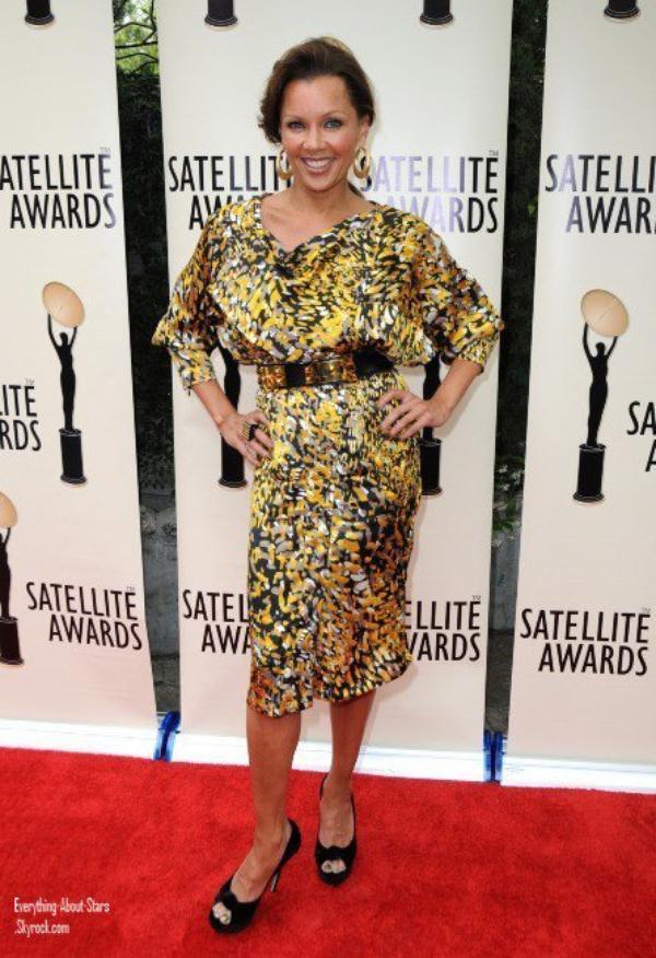 Vanessa Williams et Cindy Crawfort étaient à  l'événement 2012 Satellite Award for Outstanding Achievement in the Field of Entertainment Client Relations, organisé au Cafe La Boheme à Los Angeles.  le 1 Mai 2012
