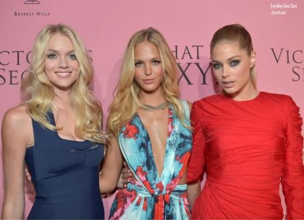 "Doutzen Kroes, Erin Heatherton et Lindsay Ellingson à l'événement ""What Is Sexy"" à Beverly Hills   le 10 Mai 2012"