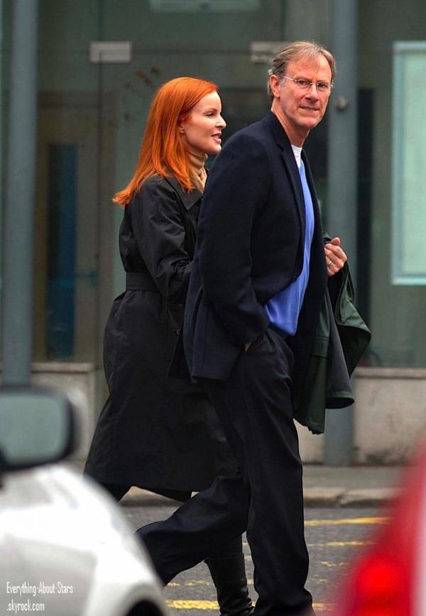 Marcia Cross et son mari Tom MaHoney ont été repérée en train de faire une balade en amoureux en Irlande  le 20 Mai 2012