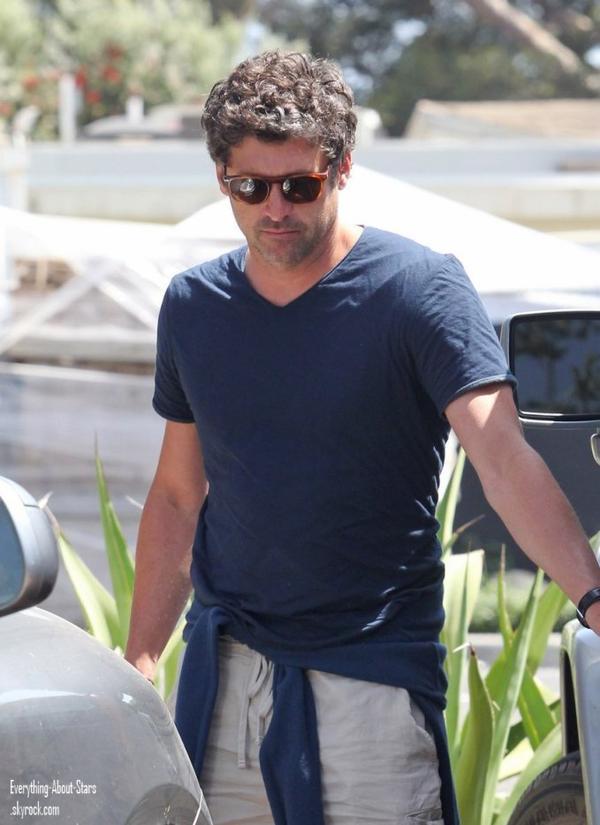 Patrick Dempsey a été repérée se rendant faire du shopping à Malibu  le 24 Mai 2012