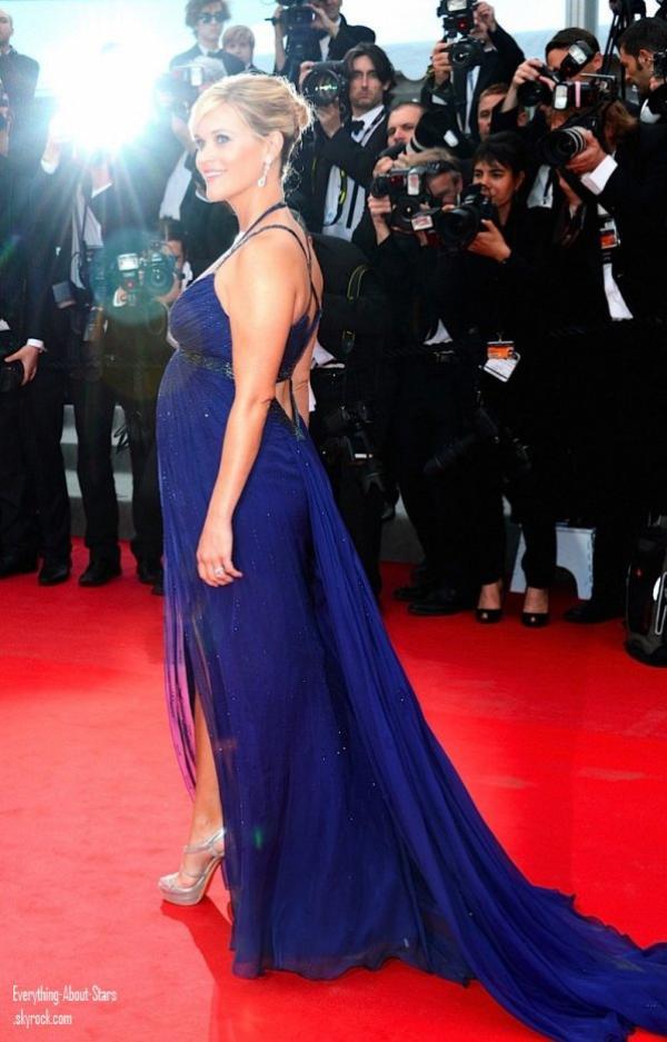 FESTIVAL DE CANNES 2012: Reese Witherspoon à la première de son film Mud au Festival de Cannes.  le 26 Mai 2012