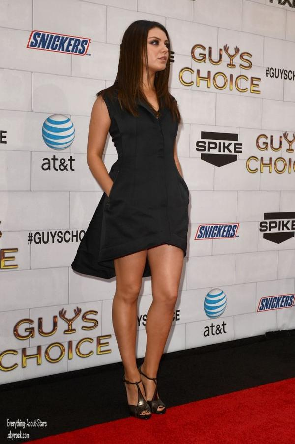 "Kristen Bell, Mila Kunis, Kate Beckinsale, Malin Akerman et Emma Stone été au ""Guys Choice Awards"" à Los Angeles  le 2 Juin 2012"