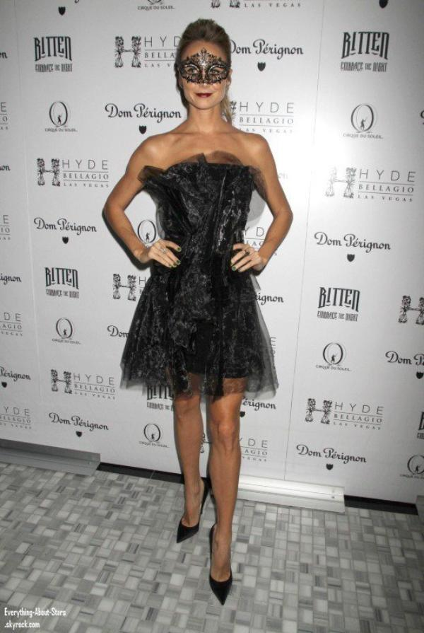 Stacy Keibler été à la  Masquerade Party, une fête organisée pour Halloween à l'Hôtel Hyde Bellagio à Hollywood.  le 27 octobre 2012